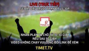 11metTV Trực tiếp bóng đá