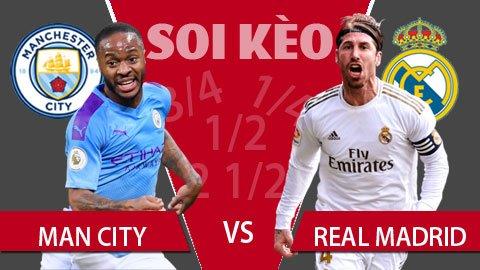 Keo nha cai - ManChester City vs Real Madrid