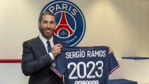 Tin tức bóng đá 9/7 - Sergio Ramos cập bến PSG